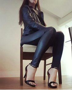 Top 20 Sexy Legs with High Heels Sexy High Heels, Sexy Legs And Heels, Beautiful High Heels, Gorgeous Feet, High Heels Stilettos, Cute Shoes Heels, Hot Heels, Shoes Sandals, Talons Sexy