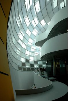 Philology Library, Berlin University, Germany by Foster and Partners Architects
