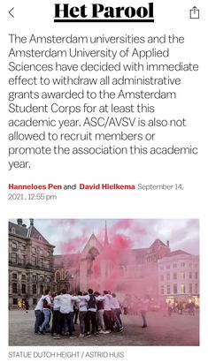 Amsterdam University, How To Apply, Student, Science, News