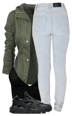 """""""10.17.15"""" by misfitloudchick ❤ liked on Polyvore featuring Dark Pink, Cheap Monday and NIKE"""