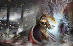 The God Emperor vs Horus