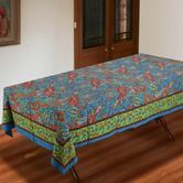 Tablecloths & Napkins   Fair Trade Kitchenware Tablecloth - Indian Summer $54.95  To place an order for this beautiful kitchen item, click on the link below www.oxfamshop.org.au #oxfam #oxfamshop #fairtrade #shopping #kitchen #kitchenware