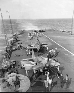 HMS Formidable off Madagascar
