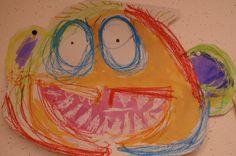 Schrijfdans bogen. Met beide handen tegelijk. En als de bogen allemaal klaar zijn maken we er een monster van. Art For Kids, Halloween, School, Painting, Carnival, Art For Toddlers, Art Kids, Painting Art, Paintings