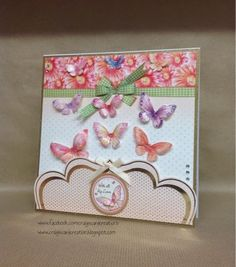 Adult Crafts, Butterfly Cards, Heartfelt Creations, Card Making, Bouquet, Paper Crafts, Hunky Dory, Dragonflies, Handmade Cards
