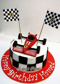 Ferrari cake by Zeina's