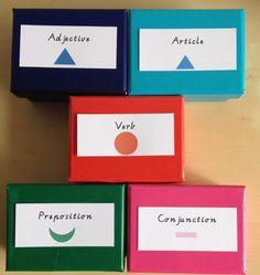 I <3 Montessori Grammar