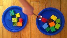 Jeu relais - Une fête d'enfants sous le thème des Lego