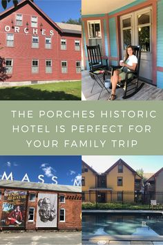 The Porches at MASS MoCA is a quirky and cool place for your family to stay when exploring the Berkshires. #massachusetts #familytravel Travel With Kids, Family Travel, Moca, Best Places To Travel, Your Family, Be Perfect, Massachusetts, Porches, Exploring