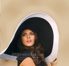 Nuevo 6.69 pulgadas ala grande mujeres del verano Anti ultravioleta playa  sombrero 17 CM grande visera aa868d5f2b1