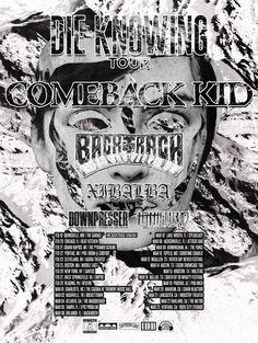 COMEBACK KID announce headlining tour and album details Dog Tags, Comebacks, Tours, Album, Artist, Kids, Poster, Ticket, Music