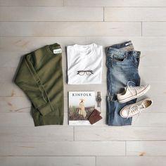 10.2 тыс. отметок «Нравится», 44 комментариев — Phil Cohen (@thepacman82) в Instagram: «Sweatshirt for a simple Sunday. ___ Sweatshirt: @ourlegacy Tee: @filippak_man Shoes: @converse…»