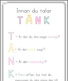 Learn Swedish, Swedish Language, Bra Hacks, Motivational Quotes, Inspirational Quotes, Adhd And Autism, Happy Thoughts, True Words, Kids And Parenting