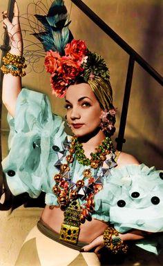Carmen Miranda in 'That Night in Rio' (1941)