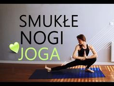 Joga na Smukłe Uda ♥ 10-minutowy Trening Nóg - YouTube Yoga Fitness, Health Fitness, Running Motivation, Yoga Tips, Excercise, Stay Fit, Pilates, Fitness Inspiration, Cardio