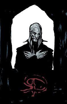 Preliminary Sketch for Dracula: The Count | Becky Cloonan