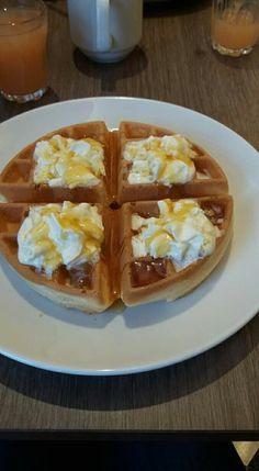 Waffles, Drink, Breakfast, Food, Morning Coffee, Beverage, Essen, Waffle, Meals