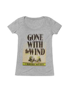 Gone With the Wind women's tee- http://www.outofprintclothing.com/collections/womens-tees/products/gone-with-the-wind-womens-tee