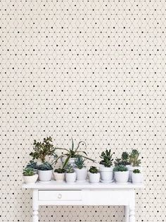 Minimalistic Geometric Removable Wallpaper / Self Adhesive Removable Wallpaper / Wall Mural / Wall covering - 121 Fern Wallpaper, Accent Wallpaper, Kitchen Wallpaper, Adhesive Wallpaper, Geometric Removable Wallpaper, Temporary Wallpaper, Deco Nature, Green Home Decor, Vinyl