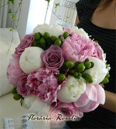 Buchet mireasa bujori nunta Rosalia Iasi