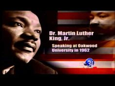 Martin Luther King, Jr. speaks at Oakwood