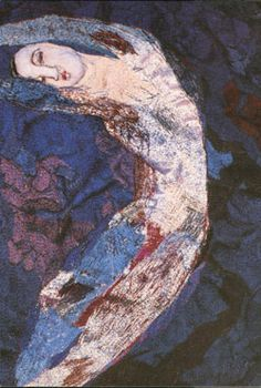 Blue Nymph 1989 Textile Art by Alice Kettle Creative Embroidery, Diy Embroidery, Alice, Creative Textiles, Contemporary Embroidery, Sewing Art, Free Machine Embroidery, Artist Gallery, Textile Artists
