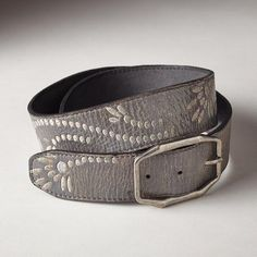 MAIDEN FERN BELT. Comes in silver and tan. Sundance
