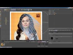 Poster Animation Tutorial - Creating an animated image using a still photograph, After Effects, Photoshop & Cinema 4D.
