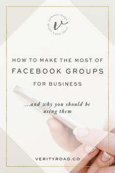 How to make the most of facebook groups and why you should be using them. Increase your visibility, grow your business, find your target audience, network and build connections with facebook communities as a female entrepreneur and or blogger. Find business support, business advice, business tips, social media marketing help, mindset coaching and more.