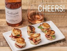 Appetizer idea: Scallop BLTsWant to serve BLTs without all the carb-heavy bread? Try using scallops instead! Heat 2 teaspoons of olive oil plus 2 teaspoons of unsalted butter over high heat in a...