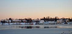 Wooden Houses, Sailors, West Coast, Sweden, Europe, King, River, Island, Outdoor