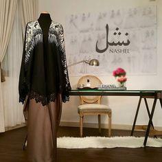 nashel abaya من مجموعتنا الجديدة #عبايات_نشل #نشل #عبايات #عبي…
