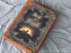 Book of Magick  stash box wood chest box book box by DKKustomDesignz on Etsy