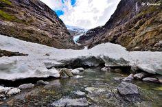 Kjenndalsbreen & Bødalsbreen glacier Nature Photography, Water, Outdoor, Gripe Water, Outdoors, Nature Pictures, Outdoor Games, Wildlife Photography, The Great Outdoors