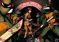 Teenage Mutant Ninja Turtles by ~thorup on deviantART