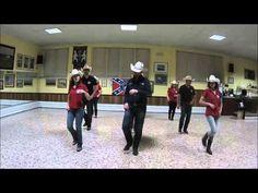 SEVEN line dance