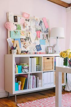 The Lovely Side: For My Office: 10 Ginormous, Inspiring Inspiration Boards