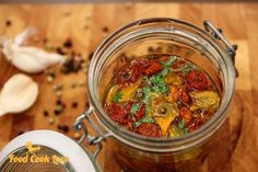 Suszone pomidorki koktajlowe   Food Cook Love Chana Masala, Chili, Food And Drink, Soup, Cooking, Ethnic Recipes, Kitchen, Chile, Soups