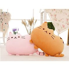 Are you a cat person? You will like these adorable stuffed cat shaped cushion.40*30cm for just $12.34