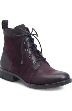 Børn 'Troye' Vintage Lace Up Boot
