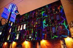 2012 Illuminate Yaletown - Lighting Art on the Wall by TOTORORO.RORO, via Flickr