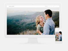 Build your Squarespace wedding website
