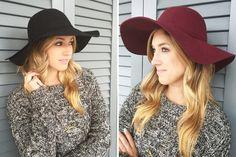 WOOL FEDORA HAT - 4 COLORS!  Stylish Fedora Hats  STARTING AT    64% OFF