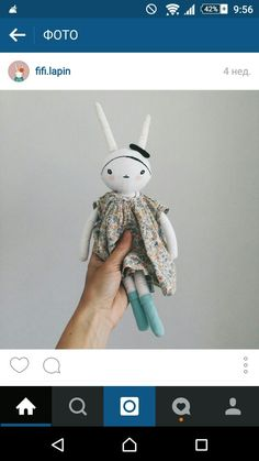 Cloth bunny