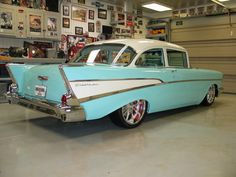 1957 Chevy Bel Air 150 - we had a station wagon model of this one... family vacations...