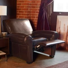 Henry Leather Recliner Chair West Elm Homegoos Pinterest Recliners And Living Rooms