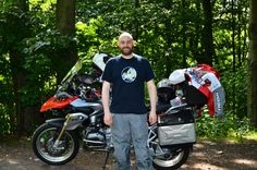 Quick pose in southeast Germany #R1200GS