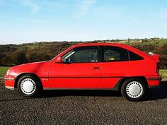 Vauxhall Astra GTE  Good fun but not as much fun as the Nova version