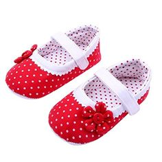 First Walkers Mother & Kids Romantic Spring Autumn Baby Girls Shoes Kids Soft Sole Anti-slippolka Dot First Walkers Casual Walking Crib Shoes