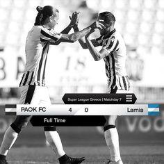 #PAOKLAM 4-0 #SuperLeague #PamePAOKARA